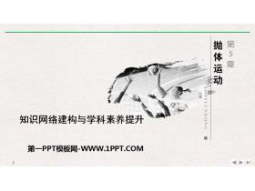 《知识网络建构与学科素养提升》抛体运动PPT优质课件