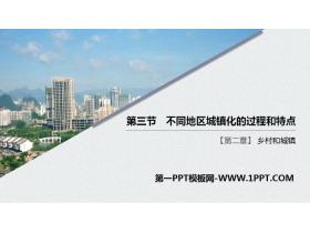 《不同地区城镇化的过程和特点》乡村和城镇PPT