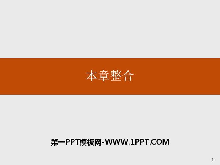 《本章整合》人地关系与可持续发展PPT课件