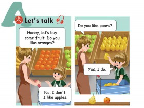 《Do you like pears?》Lets talk Flash动画课件
