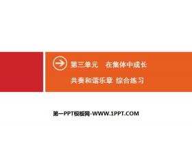 《共奏和�C�氛隆吩诩��w中成�LPPT(�C合��)