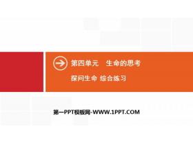 《探��生命》生命的思考PPT(�C合��)