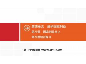 《��家利益至上》�S�o��家利益PPT�n件(�C合��)