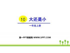 《大还是小》PPT优质课件下载