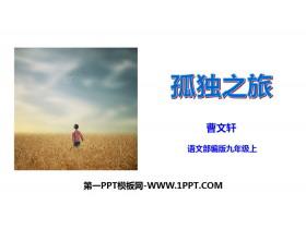 《孤独之旅》PPT免费下载