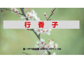 《行香子》课外古诗词诵读PPT课件