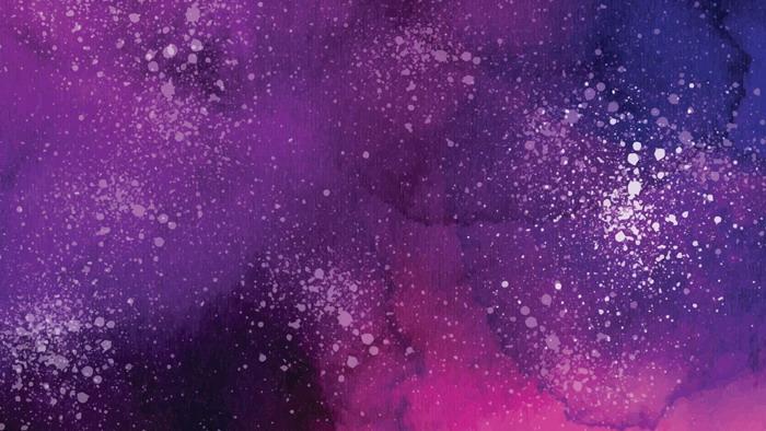 紫色水彩墨迹必发88背景图片