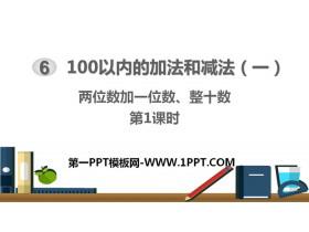 《�晌�导右晃�怠⒄�十�怠�100以�鹊募臃ê�p法PPT�n件(第1�n�r)