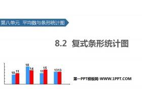 《复式条形统计图》平均数与条形统计图PPT下载