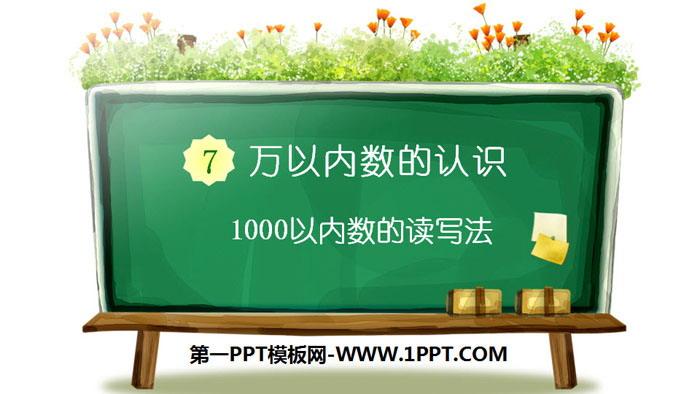 《1000以内数的读写法》万以内数的认识PPT