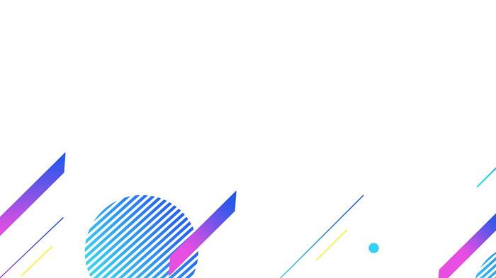 2张彩色时尚斜线多边形必发88背景图片