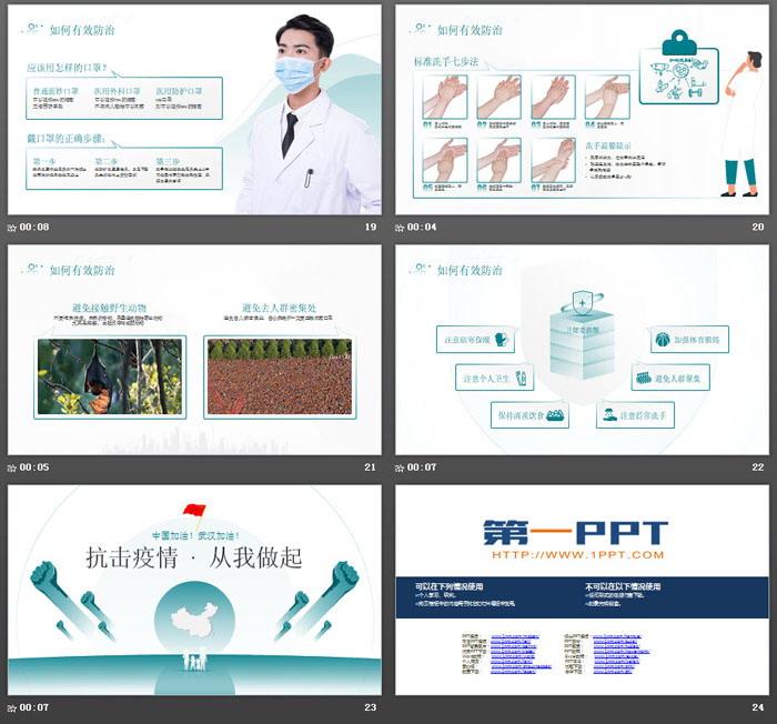 防控新型冠状病毒感染PPT下载