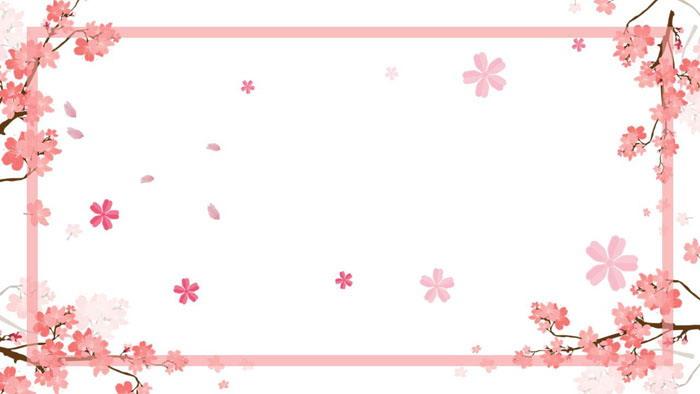粉色�鸦�PPT�框背景�D片