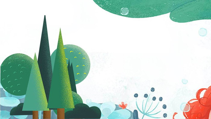 艺术水彩植物插画必发88背景图片