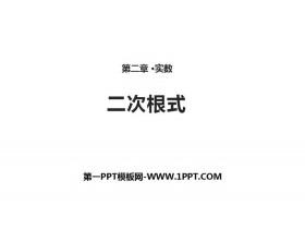 《二次根式》实数PPT