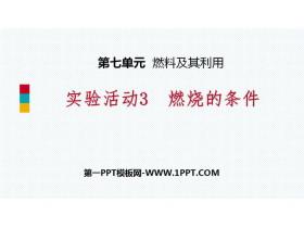 《燃烧的条件》燃料及其利用PPT教学课件