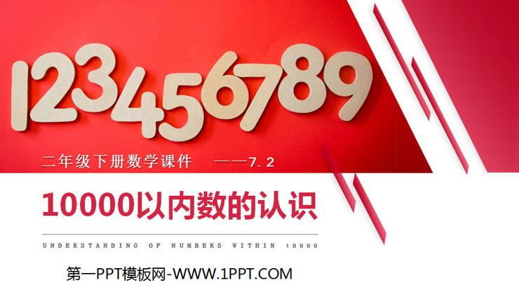 《10000以内数的认识》PPT课件下载