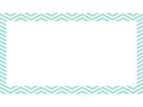 三张绿色折线PPT边框背景图片