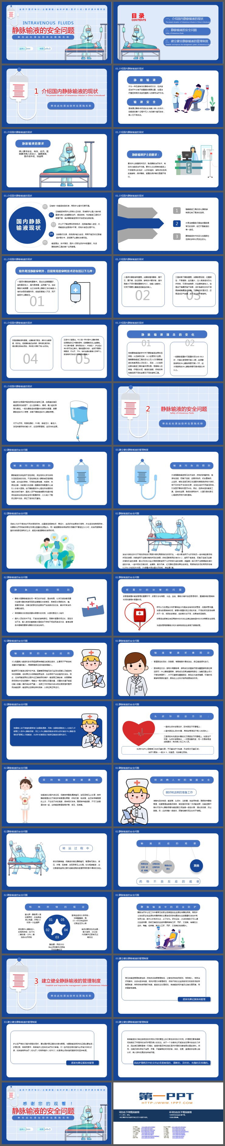 静脉输液的安全问题培训PPT下载
