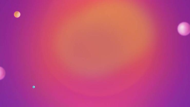 两张紫色渐变时尚PPT背景图片
