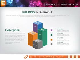40套彩色欧美数据分析PPT图表