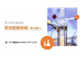 《常�的酸和�A》PPT精品�n件(第3�n�r)