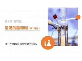 《常�的酸和�A》PPT精品�n件(第1�n�r)