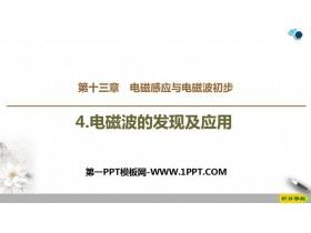 《�磁波的�l�F及��用》PPT教�W�n件