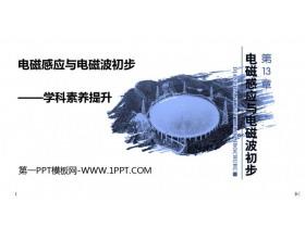 《�磁感���c�磁波初步――�W科素�B提升》PPT�n件