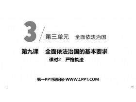 《严格执法》PPT课件