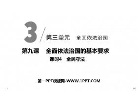 《全民守法》PPT课件