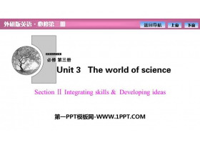 《The world of science》SectionⅡ PPT�n件