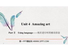 《Amazing art》PartⅡ PPT�n件
