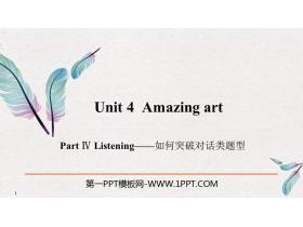 《Amazing art》PartⅣ PPT�n件