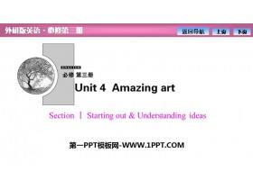 《Amazing art》SectionⅠ PPT�n件