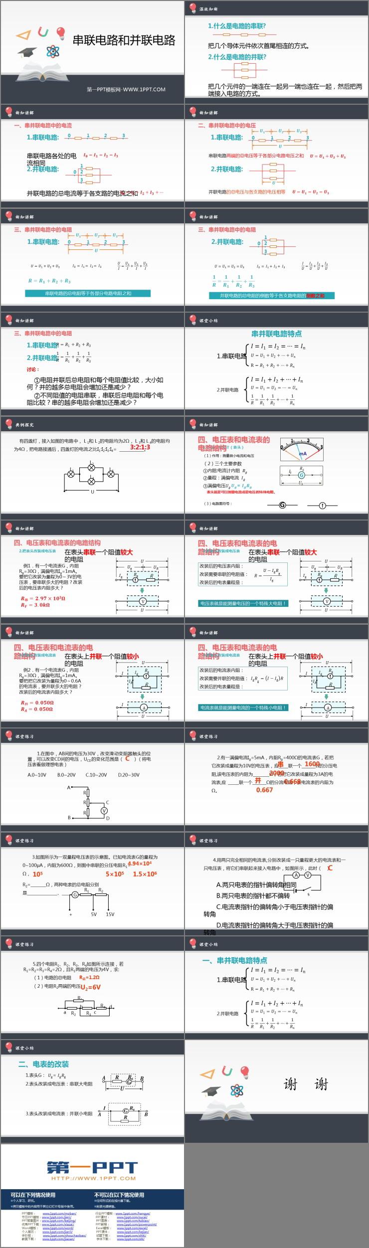 《串联电路和并联电路》PPT课件下载