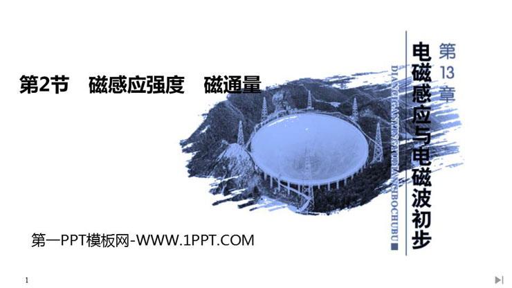 《磁感应强度 磁通量》PPT课件