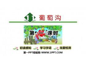 《葡萄沟》PPT课件(第1课时)