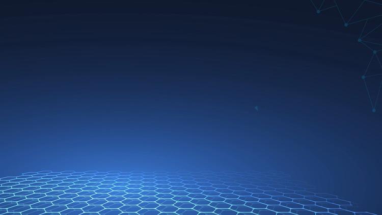 �{色科技感的地球PPT背景�D片
