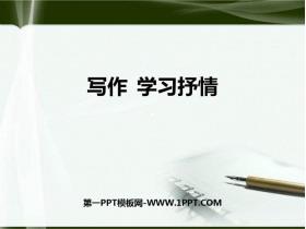 《��作 �W�抒情》PPT教�W�n件