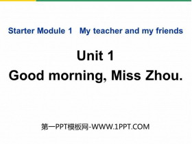 《Good morning,MissZhou》PPT�n件下�d