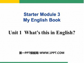 《What's this in English?》PPT�n件下�d