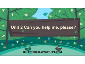 《Can you help me,please》PPT�n件下�d