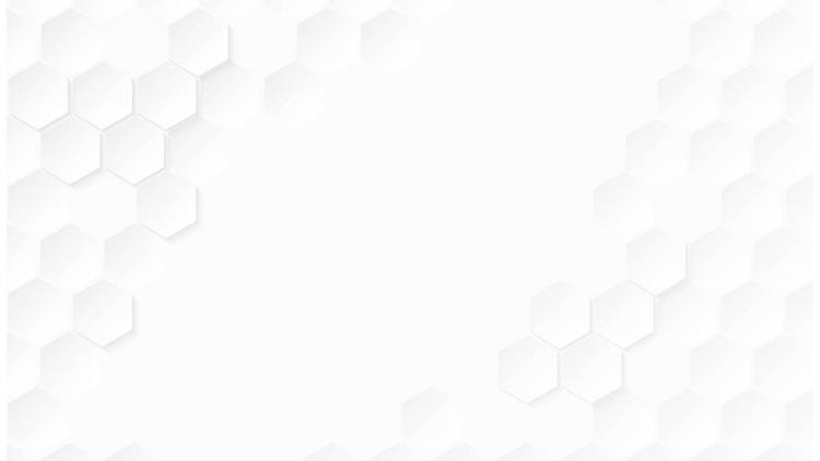 三��白色六�形�M合蜂�C形��PPT背景�D片