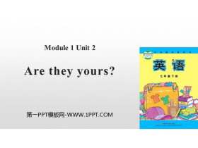 《Are they yours?》Lost and found PPT精品�n件