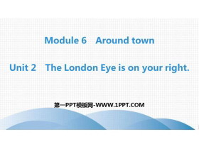 《The London Eye is on your right》around town PPT教�W�n件