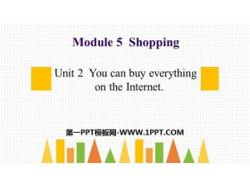 《You can buy everything on the Internet》Shopping PPT�n件下�d