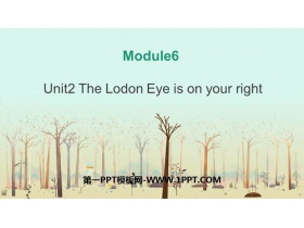 《The London Eye is on your right》around town PPT�n件下�d