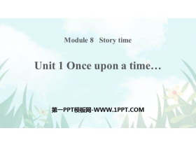 《Once upon a time》Story time PPT�n件下�d