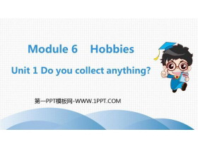 《Do you collect anything?》Hobbies PPT精品�n件